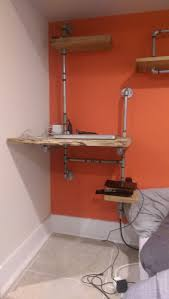 Diy Bedroom Furniture Diy Bedroom Furniture Using Reclaimed Wood And Plumbing Pipes