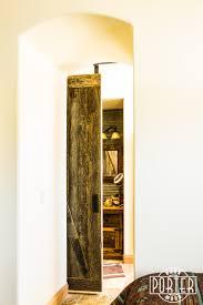 corrugated bathroom wall u0026 sliding barn door porter barn wood