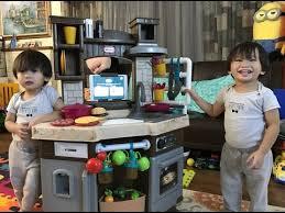 Little Tikes Kitchen Set by Little Tikes Cook U0027n Learn Smart Kitchen Set Unboxing Kids