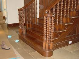 Wooden Handrail Designs 82 Best Spindle And Handrail Designs Images On Pinterest Stairs