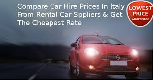 hire a in italy hire a car in italy from top suppliers