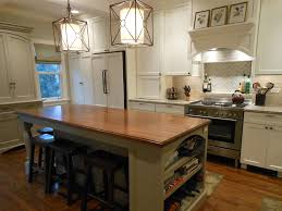 Kitchen Island With Seating For 4 Surprenant Kitchen Island With Seating Butcher Block Amusing