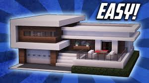 modern house building minecraft how to build a large modern house tutorial 22 youtube