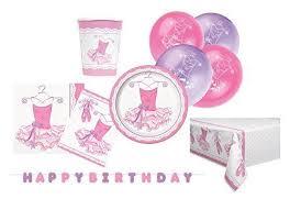 ballerina party supplies pink ballerina party supplies kit for 8 ebay