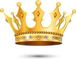 3d shiny golden crown design free vector in adobe illustrator ai