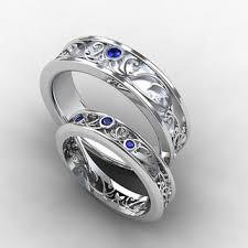 sapphire and wedding band shop blue sapphire mens wedding bands on wanelo