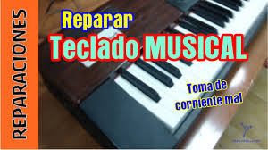 reparar teclado musical youtube