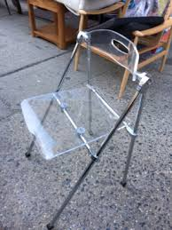 Lucite Folding Chairs Amazing Modern Furniture U2026 You Have To See Reuse America Vintage