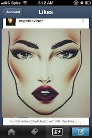 makeup artist sketchbook 99 best makeup charts images on mac charts