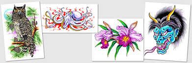 tattoo designs u0026 symbols orchids owls om ohm ouroboros oni