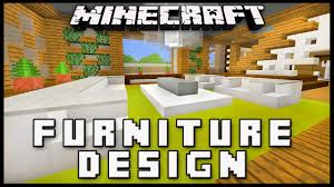 How To Make Couch In Minecraft by Minecraft How To Make Furniture For A Living Room Modern House