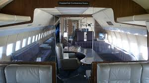 air force one interior the air force one chooses the boeing 747 800 for their new aircraft