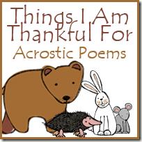 Acrostic Thanksgiving Poem Thankful Acrostic Poems Royal Baloo