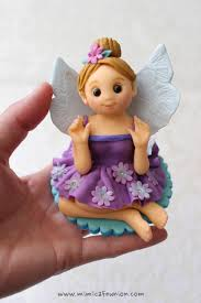 fairy cake topper fondant doll cake topper by mimicafe union clay