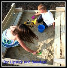 lipstick and sawdust coolest sandbox ever