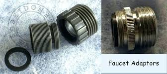 kitchen faucet adapters garden hose to kitchen faucet adapter swebdesign