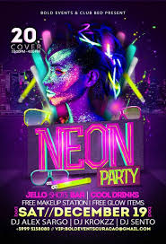 neon party neon party curaçao party guide