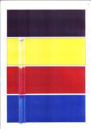 Flag Red White Blue Horizontal Stripes Print Quality