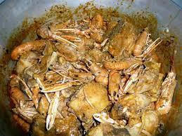 cuisiner les langoustines recette de poulet aux langoustines