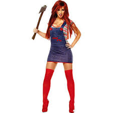 city costumes chucky costume for women party city polyvore