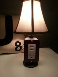 table l with usb port and outlet nightstand impeccable nightstand l design bedside reading ls