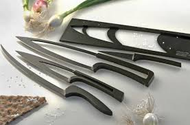 luxury kitchen knives meeting a knife set by mia schmallenbach