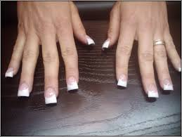pink and white acrylic nails nyc nails fashion styles ideas