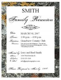 25 family reunion invitation templates free psd invitations