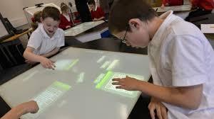 High Tech Desk Latest Technologies High Tech Desks Help Kids Do Better At Math