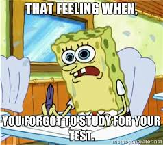 Spongebob Homework Meme - spongebob school meme test by g strike251 on deviantart