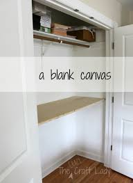 Closet Office Desk Home Office In A Closet How To Make The Most Of A Bit Of