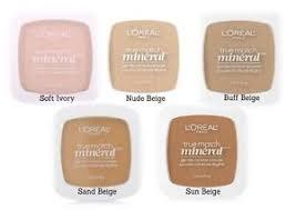 L Shade L Oreal True Match Mineral Powder Foundation 8 Shades Choose Shade