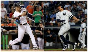 Aaron Judge Joins An Exclusive Club Of Yankees All Stars Pinstripe - aaron judge thrilled to have giancarlo stanton on yankees cbs new york
