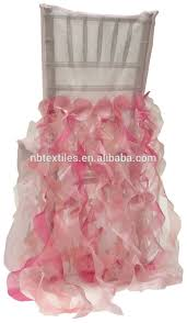Pink Chair Covers Ruffled Wedding Chair Cover Ruffled Wedding Chair Cover Suppliers