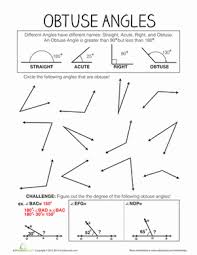 math worksheets for 4th grade angles and triangles math best