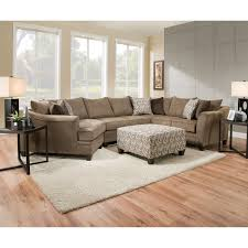 Albany Sectional Sofa 3pc Sectional Albany Truffle Nader S Furniture