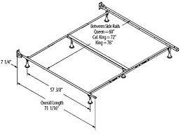 King Size Bed Frame Width Length Of Bed Frame Bed Frame Katalog 275d54951cfc