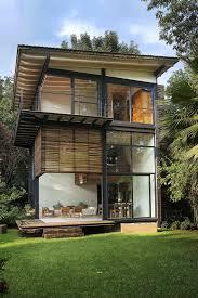 modern architecture home design rooftop patio chateau de maisons