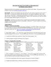 2011 2012 human anatomy u0026 physiology