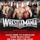 WRESTLEMANIA 31 Promotional Poster Revealed
