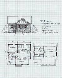 garden cottage one level with loft floor small cabin plans house