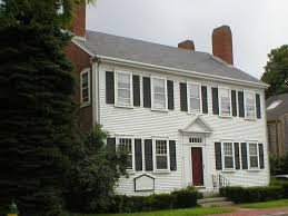 interesting front colonial style house as wells as colonial style