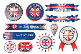 made in uk seal uk flag vector thinkstock