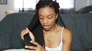best braiding hair for twists top tips for box braids twists thin edges youtube