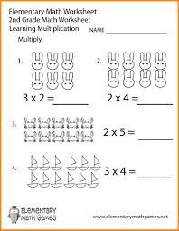 Worksheet Multiplication Multiplication Worksheets For 2nd Grade Multiplication Worksheets