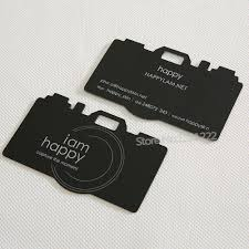 custom business cards 380g skin black visit card and can custom