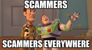 Scam Meme - bitcoin scams and social media bithub africa