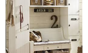 mudroom wood bench with shelf front entrance storage bench