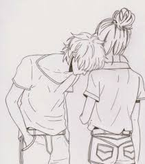 cute couple drawing ideas easy drawing ideas