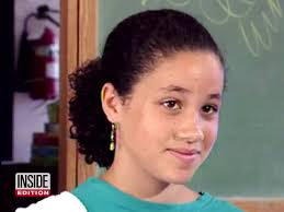 inside edition hairstyles watch 11 year old meghan markle fight for gender equality on nick